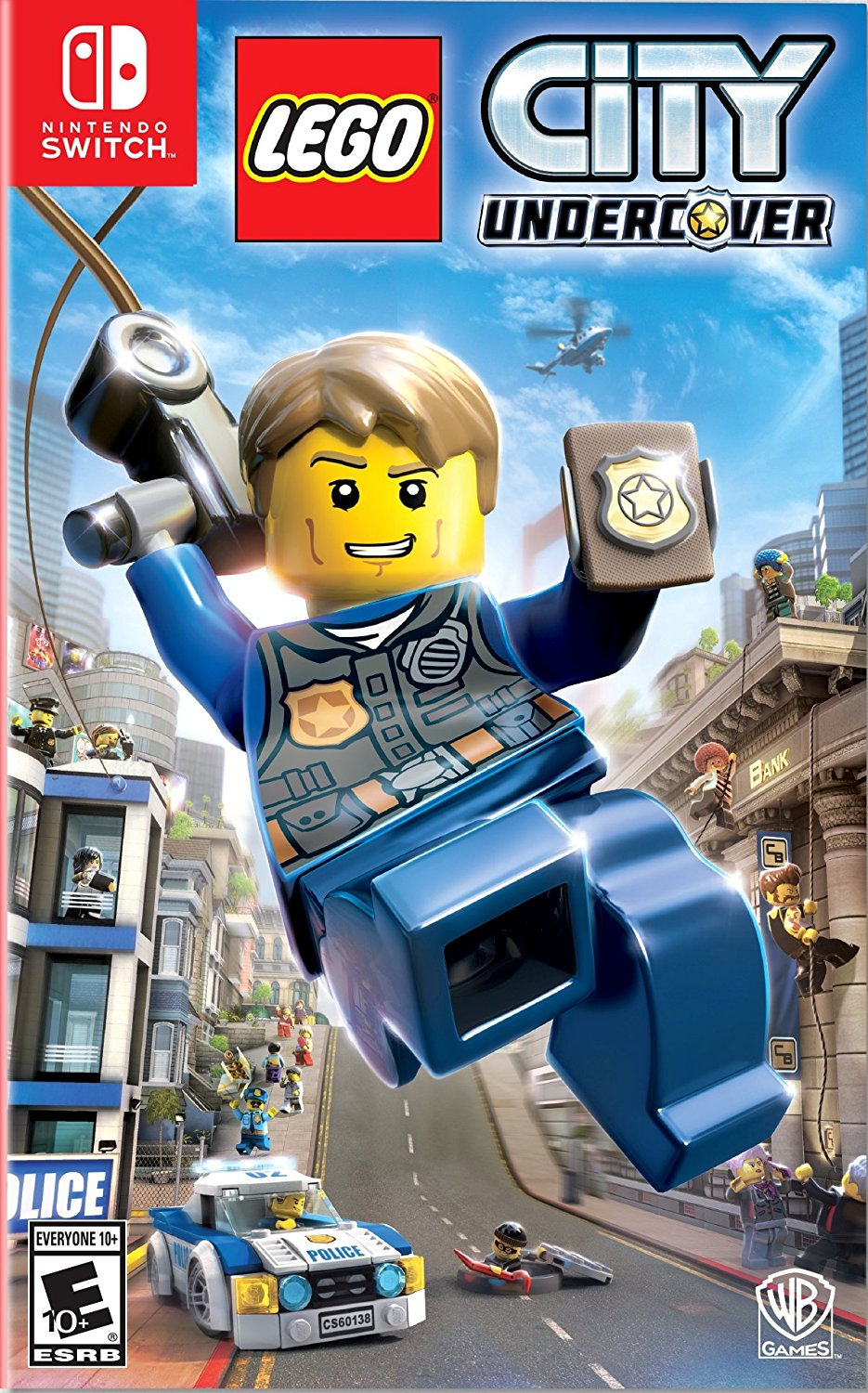 NS: LEGO CITY UNDERCOVER (NM) (COMPLETE)